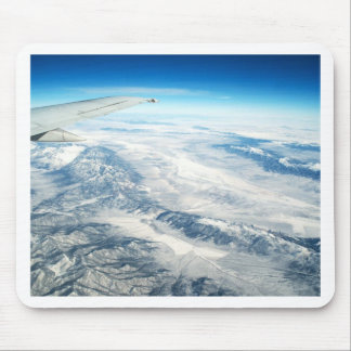 Frozen Mountain Tops Mouse Pad