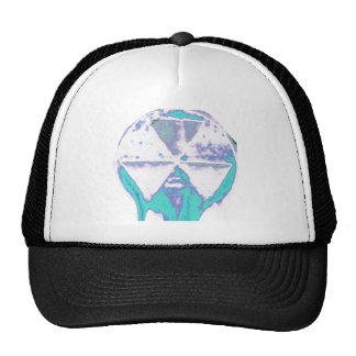 Frozen Mushroom Cloud Trucker Hat