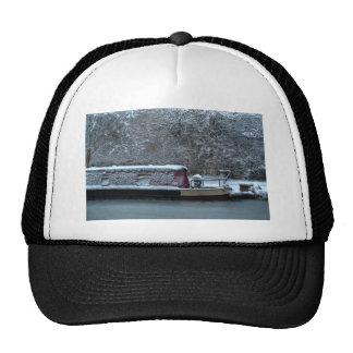 Frozen Narrowboat Trucker Hat