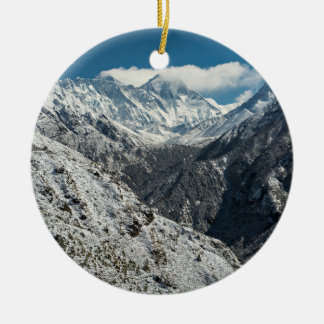 Frozen of Great mount Everest Ceramic Ornament