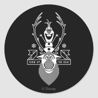 Frozen | Olaf and Sven Classic Round Sticker