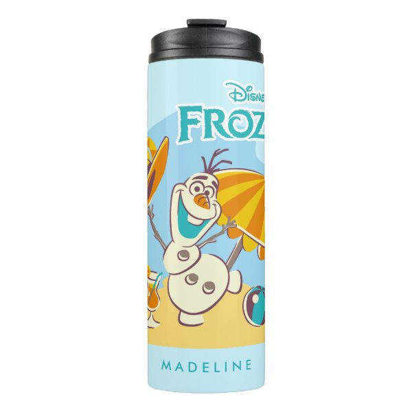 Frozen | Olaf Playing on the Beach Thermal Tumbler