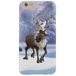 Case-Mate Barely There iPhone 6 Plus Case with Frozen's Olaf the Snowman & Sven the Reindeer design