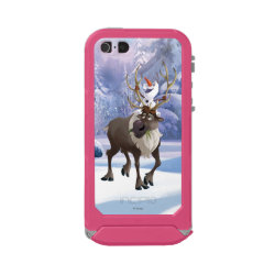 Incipio Feather Shine iPhone 5/5s Case with Frozen's Olaf the Snowman & Sven the Reindeer design