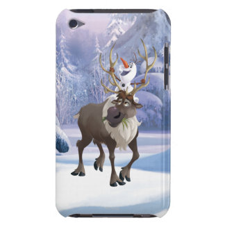 Frozen | Olaf sitting on Sven iPod Case-Mate Case