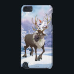 "Frozen | Olaf sitting on Sven iPod Touch (5th Generation) Cover<br><div class=""desc"">Frozen - Multiple</div>"