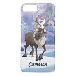 Case-Mate Tough iPhone 7 Plus Case with Frozen's Olaf the Snowman & Sven the Reindeer design