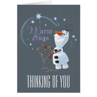 Frozen - Olaf | Warm Hugs Card