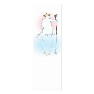 Frozen Over Gift or Note Double-Sided Mini Business Cards (Pack Of 20)