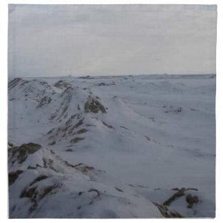 Frozen Peaks Napkin