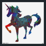 """&quot;Frozen&quot; Peel and Stick Prancing Unicorn Decal<br><div class=""""desc"""">I absolutely love this digital image and upon it&#39;s completion ...  I knew it would be among my favorites!  Coupled with this product ...  you have many options ...  CHECK THEM OUT !</div>"""