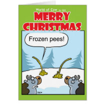 Frozen Pees Card