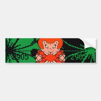 Frozen Pixie Queen Bumper Sticker