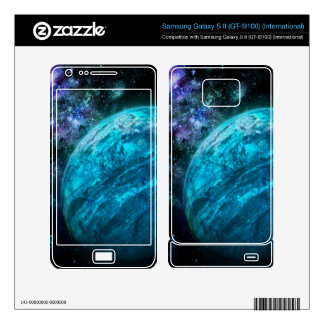 Frozen Planet vinyil phone skin (ANY PHONE!) Samsung Galaxy S II Decal