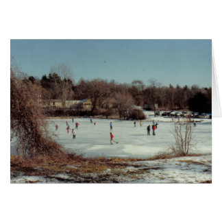Frozen Pond Card