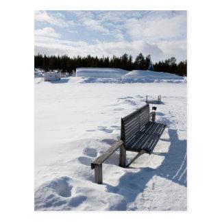 Frozen Postcard