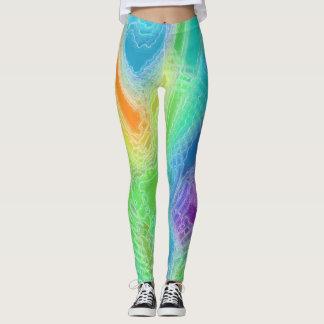 Frozen Rainbow Leggings