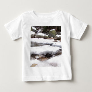 Frozen River At Lodge Pole Sequoia National Park Baby T-Shirt