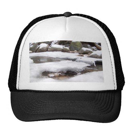 Frozen River At Lodge Pole Sequoia National Park Trucker Hat