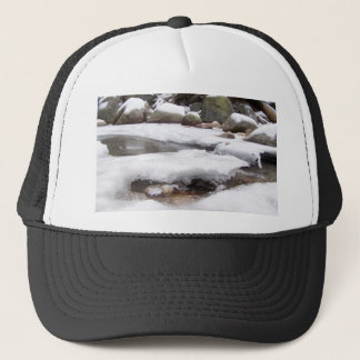 Frozen River At Lodge Pole Sequoia National Park Trucker Hat