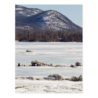 Frozen River Postcard