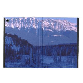 Frozen River Snowy Mountains Banff Alberta Powis iPad Air 2 Case
