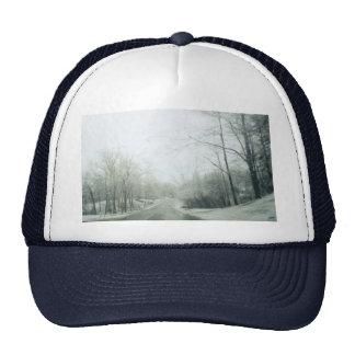 Frozen roads trucker hat