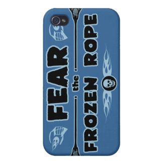 Frozen Rope - blue iPhone 4/4S Cover