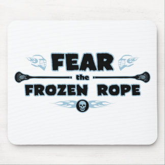 Frozen Rope - blue Mouse Pad