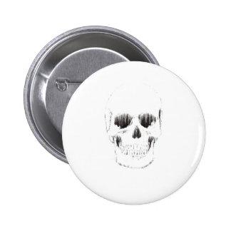 Frozen Skull Pin