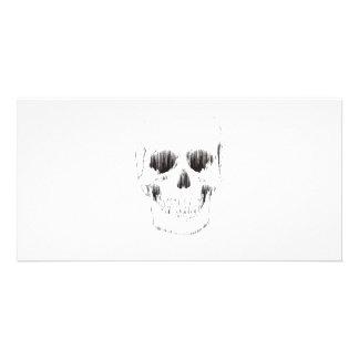 Frozen Skull Photo Greeting Card
