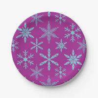 Nordic Christmas Plates | Zazzle