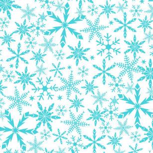 Holiday Snowflake Plates | Zazzle