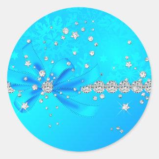 Frozen Snowflakes Stickers