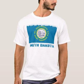 Frozen South Dakota Flag T-Shirt