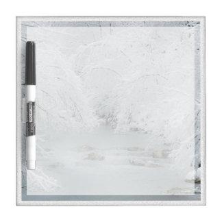 Frozen Stream - Dry-Erase Whiteboard