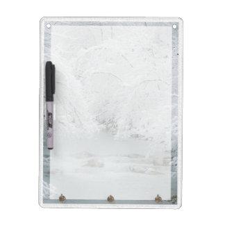 Frozen Stream - Dry Erase Board