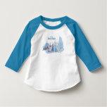 Frozen | Sven, Anna, Elsa & Olaf Blue Pastels T-Shirt