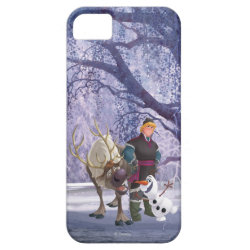 Frozen's Kristoff with Olaf the Snowman and Sven the Reindeer Case-Mate Vibe iPhone 5 Case