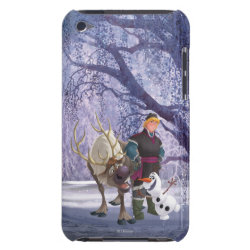 Case-Mate iPod Touch Barely There Case with Frozen's Kristoff with Olaf the Snowman and Sven the Reindeer design