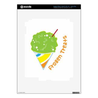 Frozen Treats Decal For iPad 3