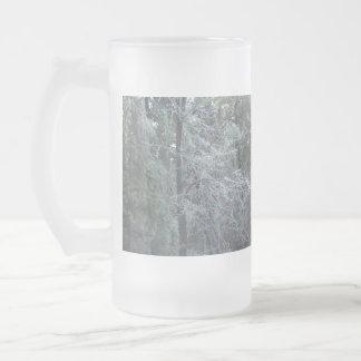 Frozen tree mug