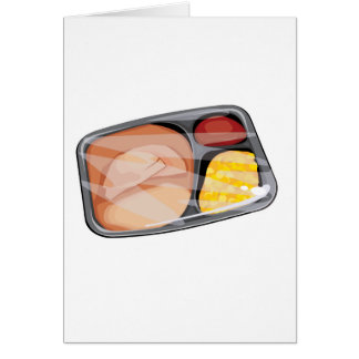 frozen tv dinner card
