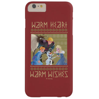 Frozen   Warm Heart Warm Wishes Barely There iPhone 6 Plus Case