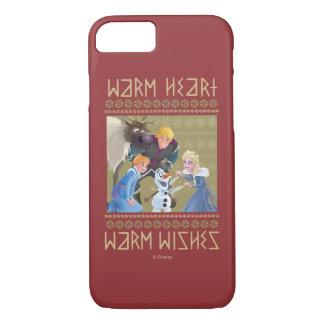 Frozen   Warm Heart Warm Wishes iPhone 8/7 Case