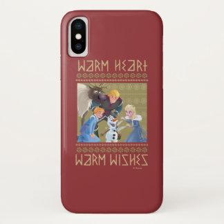 Frozen   Warm Heart Warm Wishes iPhone X Case