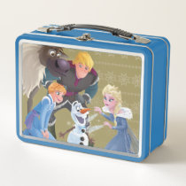 Frozen | Warm Heart Warm Wishes Metal Lunch Box