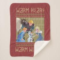 Frozen | Warm Heart Warm Wishes Sherpa Blanket