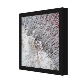 Frozen Water - Ice 2048 Canvas Print