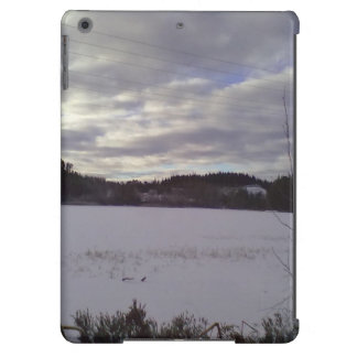 Frozen water nature iPad air cover